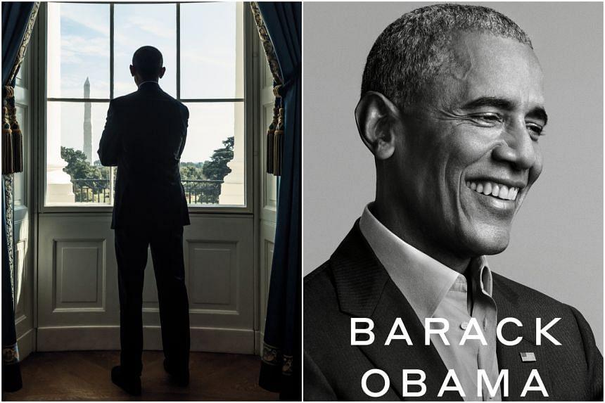 Former US President Barack Obama, author of A Promised Land.