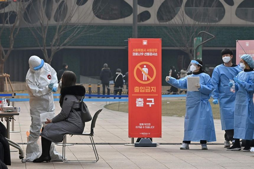 The Korea Disease Control and Prevention Agency said the national tally of confirmed cases has grown to 54,770.