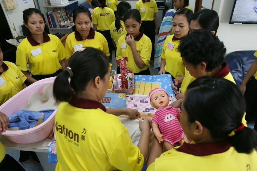 There are around 127,000 Indonesian domestic workers in Singapore, around half the total number of foreign domestic workers.