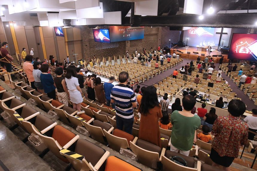 At present, religious organisations can hold congregational and other worship services for up to 100 people.