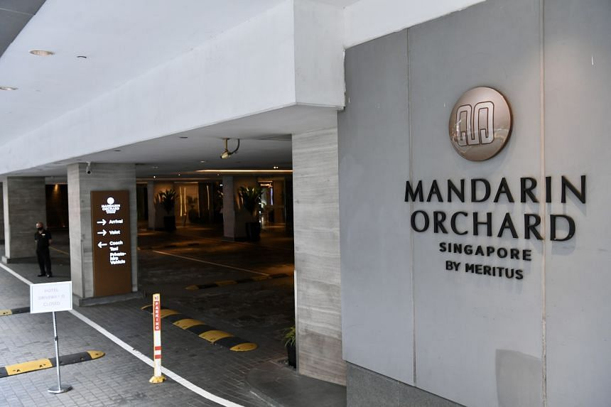 The 37-year-old man arrived here from Qatar and had completed part of his stay-home notice at the Mandarin Orchard Singapore hotel.
