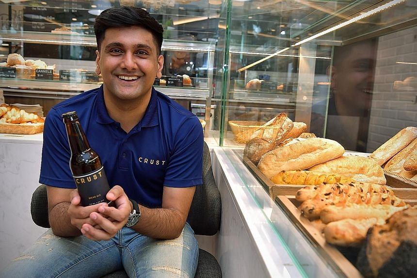 CRUST CEO Travin Singh says the company's real growth took place during the pandemic. ST FILE PHOTO