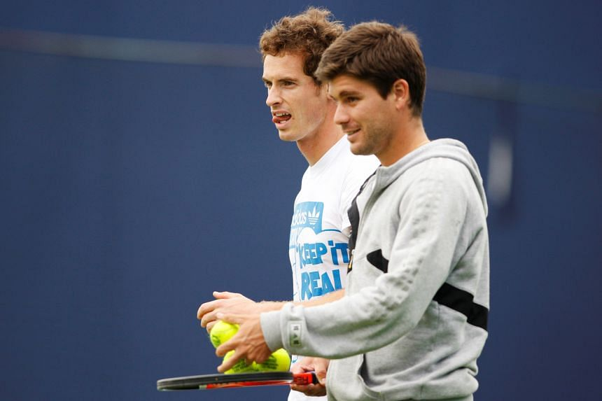 The main draw entry for the first Grand Slam of 2021 comes two years after Andy Murray (left), played what he feared would be his final professional match there.