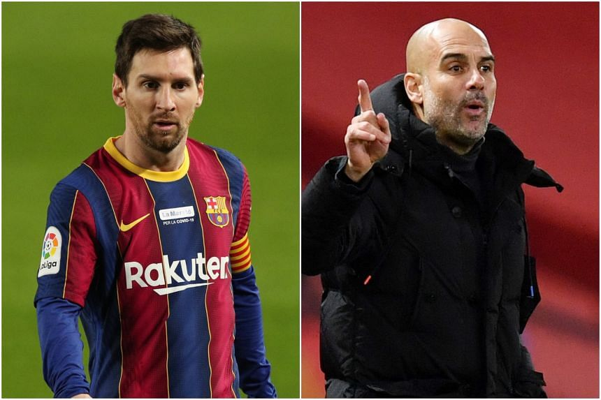 Lionel Messi was a mainstay of the Barcelona teams led by Pep Guardiola between 2008 and 2012.