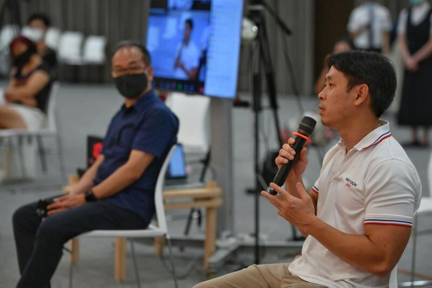 Nee Soon GRC MP Louis Ng speaking at 2020 Reflections: Voices of our Migrants on Dec 27, 2020.