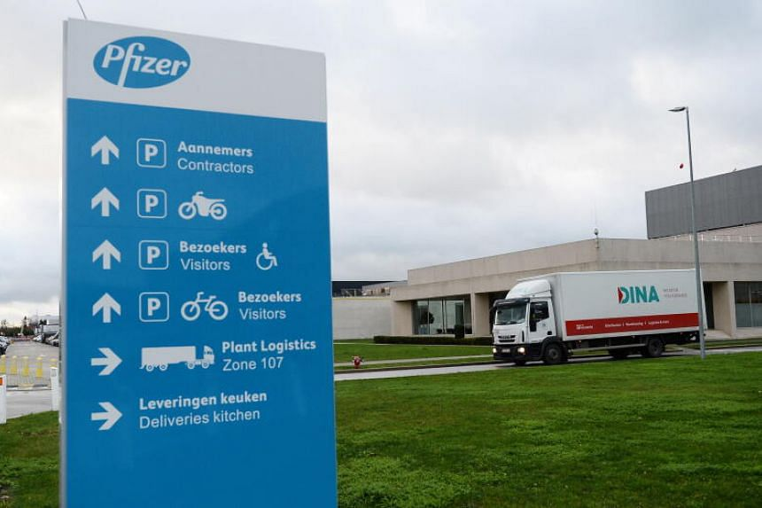 """The Spanish branch of Pfizer said the delay was due to a """"problem in the loading and shipment process"""" at its plant in Belgium."""