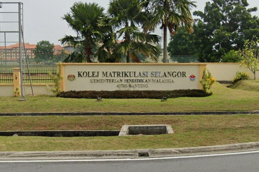 Students from Kolej Matrikulasi Selangor were instructed to return to college from Dec 28 until Jan 3, 2021.