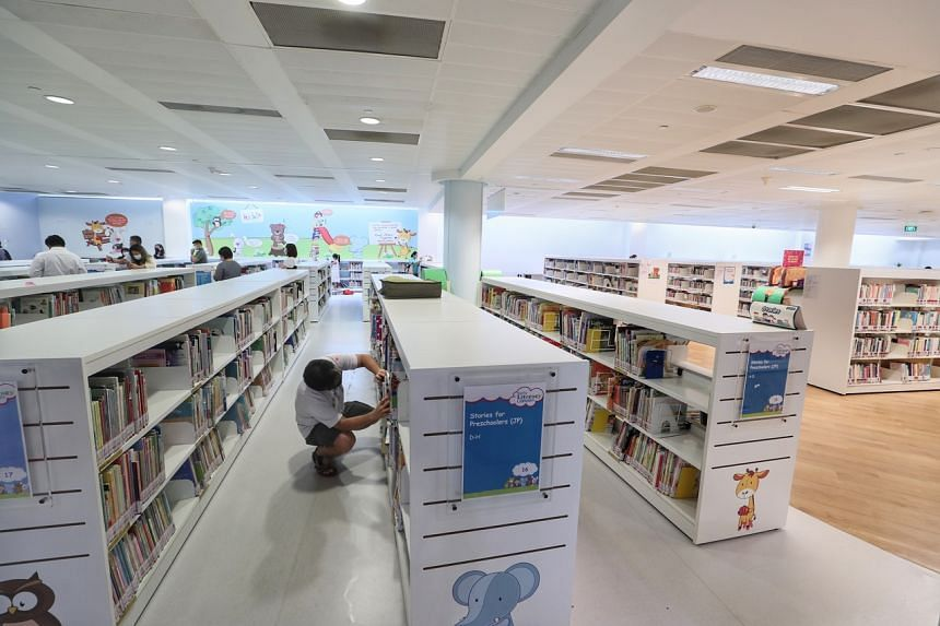 National Library Board said it will also gradually resume its public programmes, with the exception of guided tours.