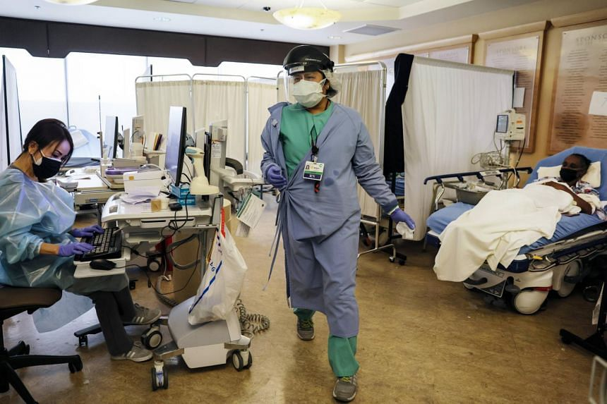Hospitals across California have been strained to the brink all month under a mounting surge of coronavirus cases.