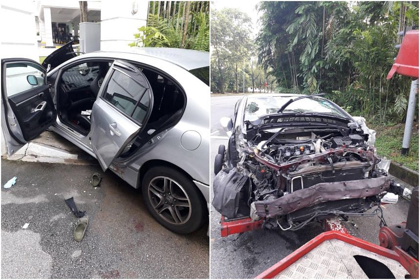 Secret society member Irsyad Sameer Abdul Rahim and his gang members caused a car chase that led to an accident at the Istana's rear gate in 2017.
