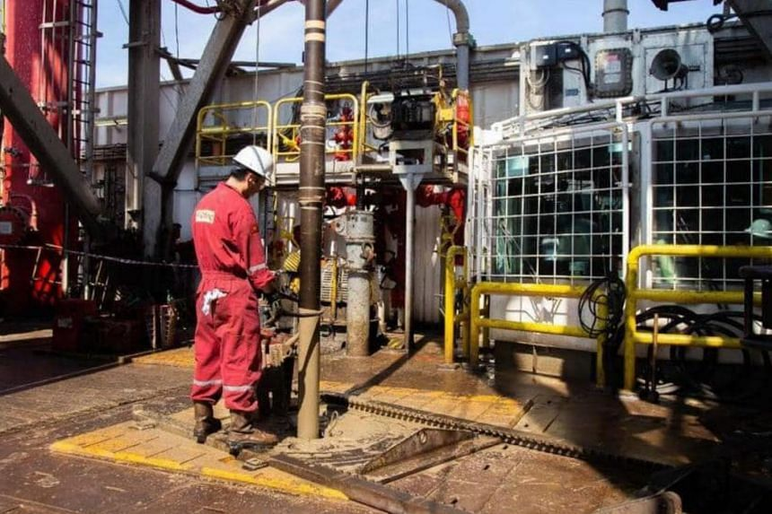 Production would progress in phases once new wells were commissioned and completed.