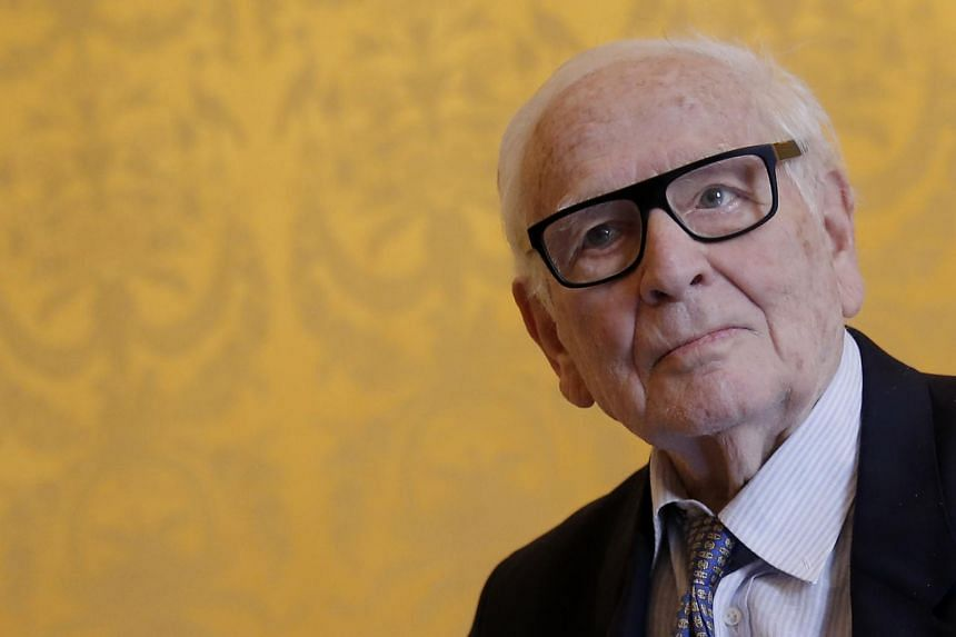 French fashion pioneer Pierre Cardin died on Dec 29 at the age of 98.