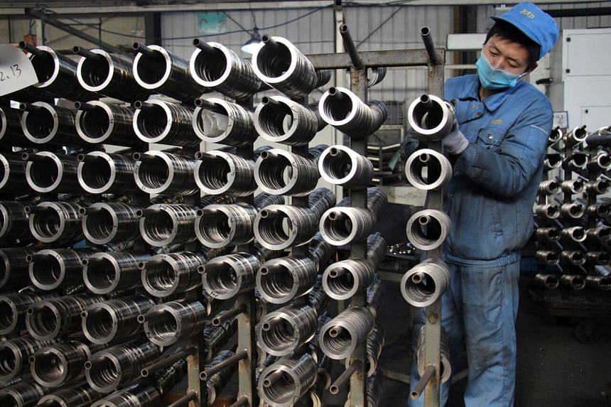 China is the only major economy that's expected to grow this year, though at a slower rate of around 2 per cent.