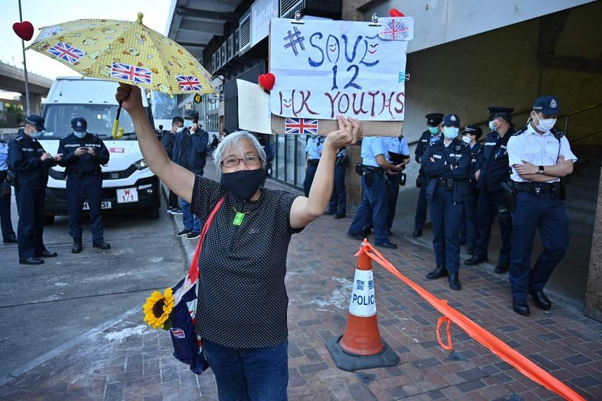 """Of the """"Hong Kong 12"""", 10 adults were jailed and fined, while two teens were sent back to Hong Kong."""