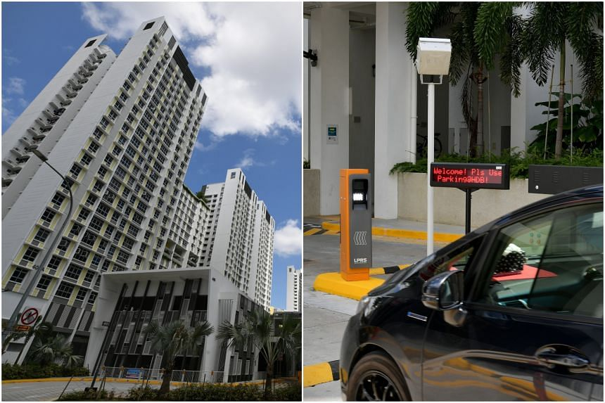 Residents living in Northshore Residences I and II will be the first to use the new Parking@HDB smart system.