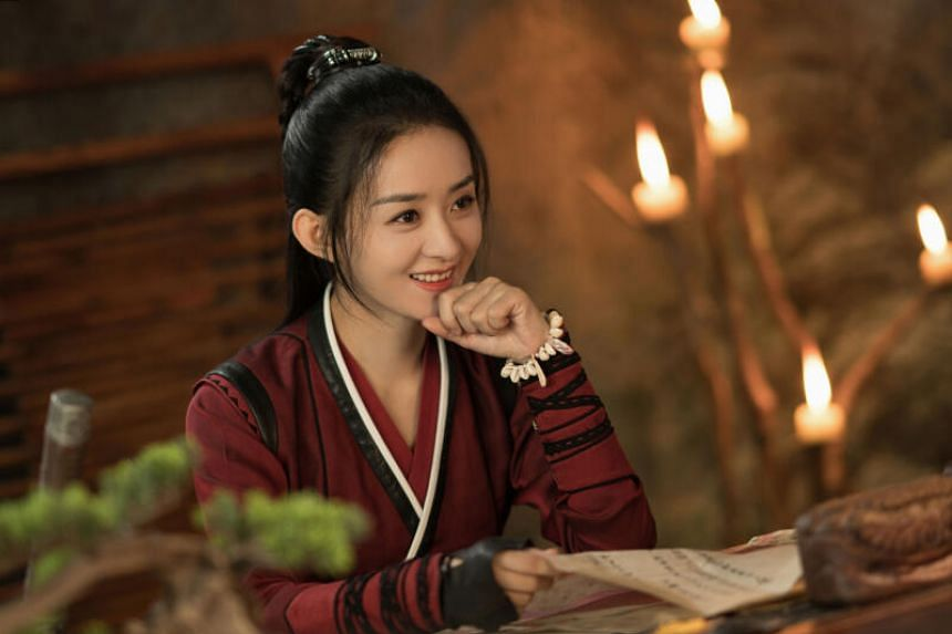 Zhao Liying in Legend Of Fei.