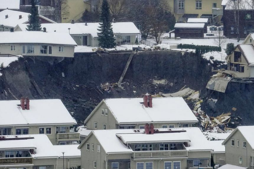 At least 21 unaccounted for after Norway landslide crashes into residential area