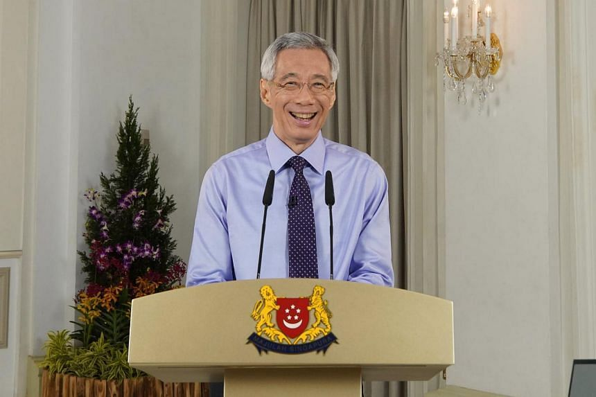 In his traditional New Year message, Mr Lee said the country had faced an unprecedented crisis, and stabilised its Covid-19 situation through enormous effort and sacrifice.