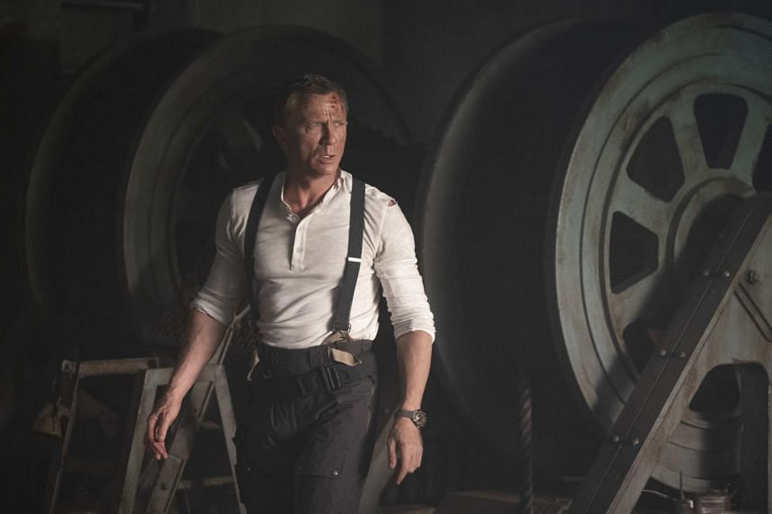 Daniel Craig dons the tuxedo for the last time in his fifth outing as Agent 007 in the film No Time To Die.