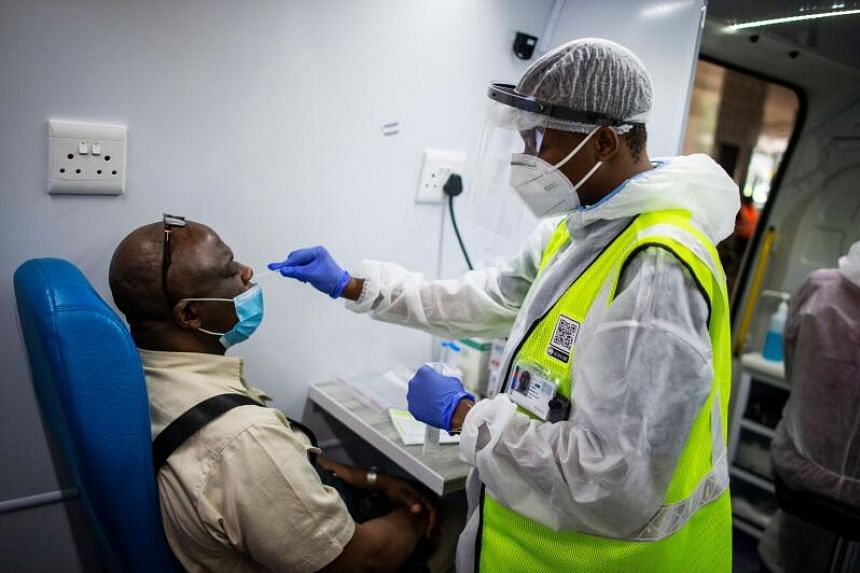 South Africa has been battling a major surge in coronavirus cases since the end of Nov 2020.
