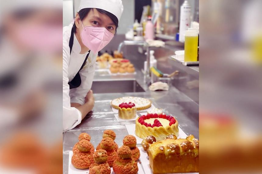 Hong Kong actress-singer Gigi Leung posted on social media that she had completed her pastry course, on Dec 31, 2020.