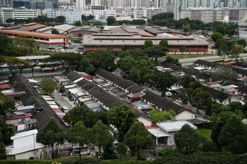 The land is slated for a new public housing development as part of a plan to rejuvenate Kallang.