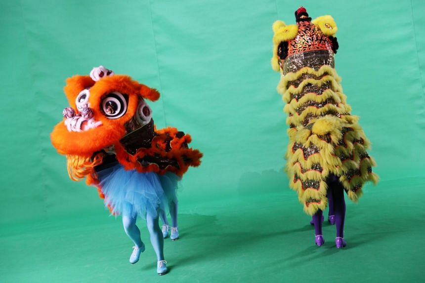 Behind the scenes filming session of a unique Lion Dance performance for the upcoming digital Chingay 2021.