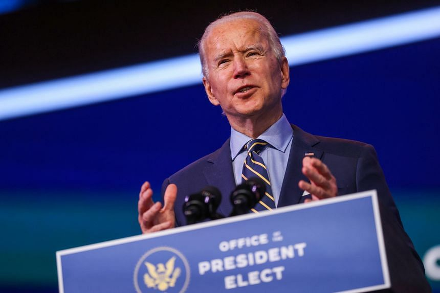 US President-elect Joe Biden has complained that Trump administration officials have been hampering his transition.
