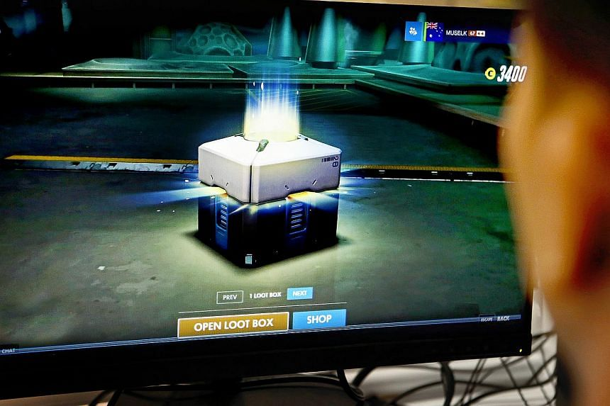 Singapore currently has no laws against loot boxes.