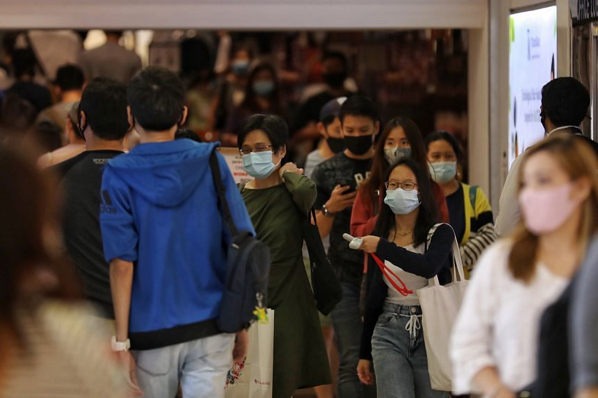 Professor Ooi Eng Eong said current control measures should suffice as the UK variant is still mainly spread through respiratory droplets.