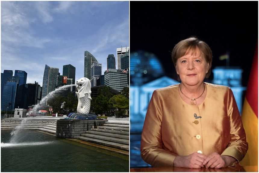The WEF special annual meeting will be held in Singapore, on May 13 to 16, and the German general election will be on Sept 26.