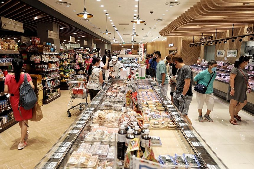 Meidi-Ya's new flagship at Millenia Walk features a cafe and bar, bakery, sushi counter and supermarket with an extensive range of Japanese items.