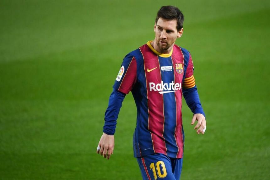Lionel Messi has been free to negotiate with other clubs since Jan 1, 2021.