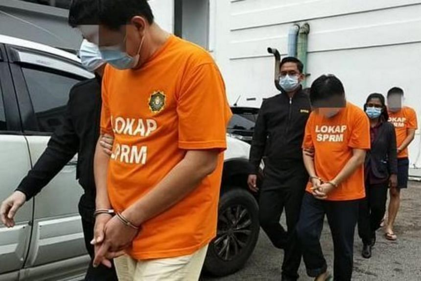 The syndicate had allegedly been making fake labels and stamps to be pasted on packages of meat not certified to be halal.