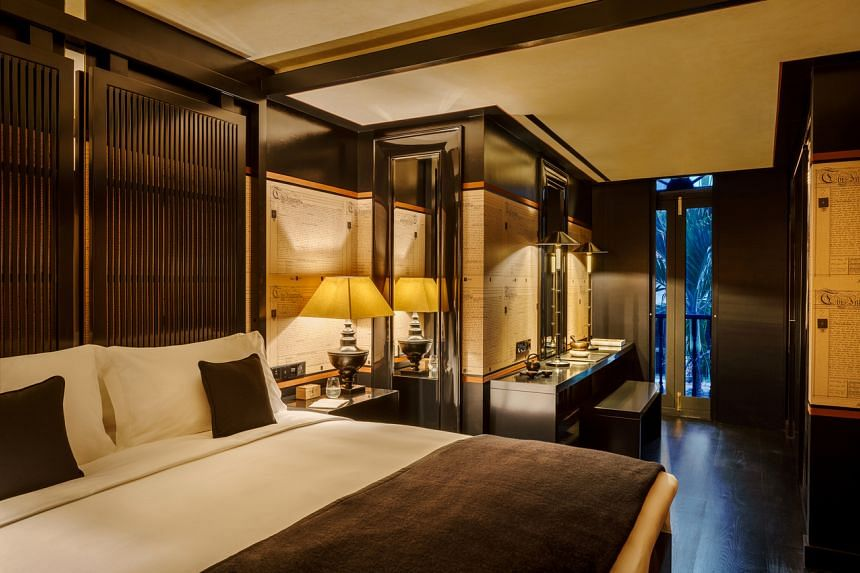 The Montgomerie suite at the Duxton Reserve Hotel.