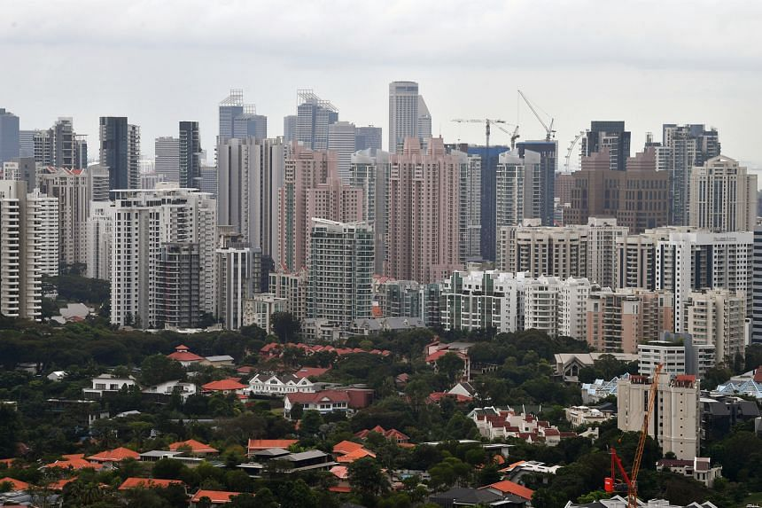 For the whole of 2020, private home prices increased by 2.2 per cent.