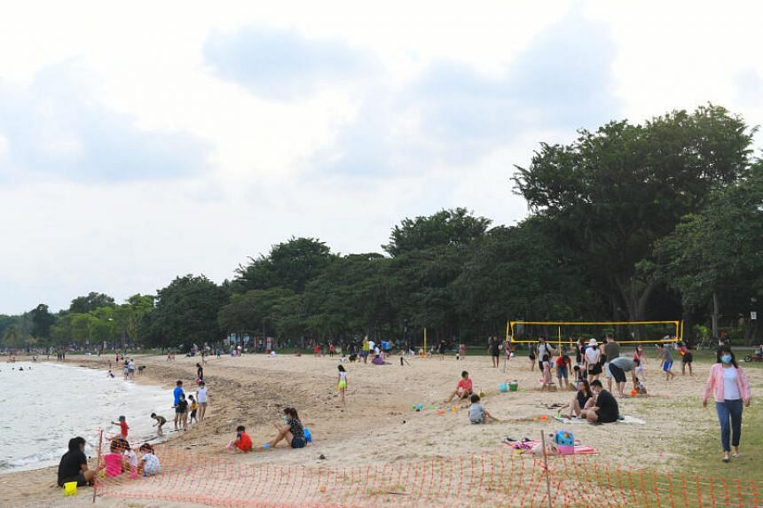 For the other half of the year, the beaches are cleaned four times a week or up to once a day.