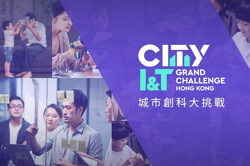 Winners of the City I&T Grand Challenge will receive attractive cash prizes, or the chance to develop their ideas for adoption by government departments or public organisations. PHOTO: HONG KONG SCIENCE AND TECHNOLOGY PARKS CORPORATION