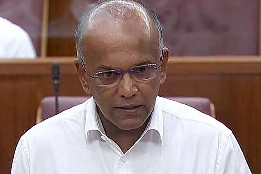 HOME AFFAIRS AND LAW MINISTER K. SHANMUGAM, noting that the police have a duty to use the powers vested in them under the Criminal Procedure Code.