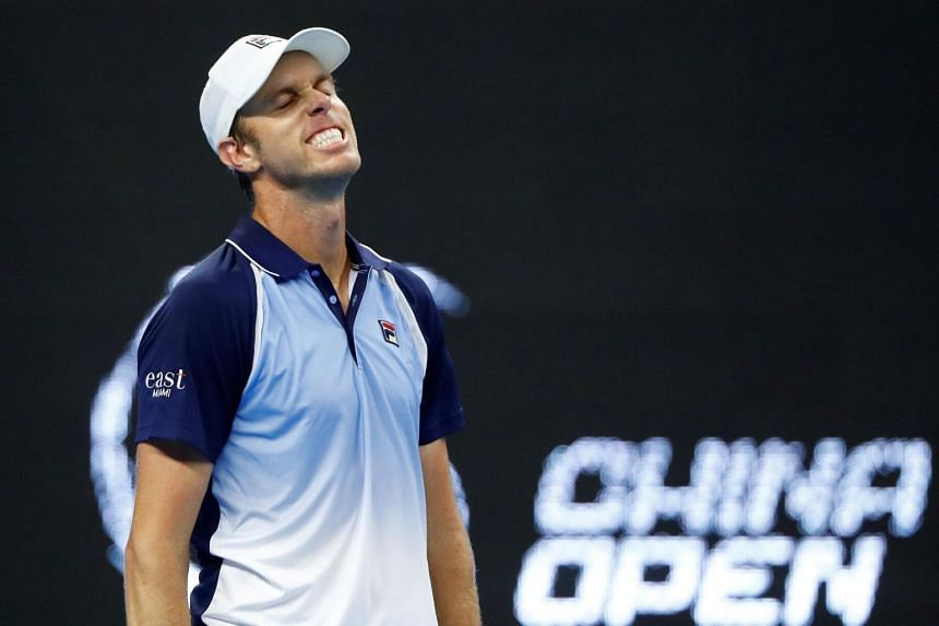 Sam Querrey left Russia in a private jet with his wife and baby son after all three tested positive for the virus.