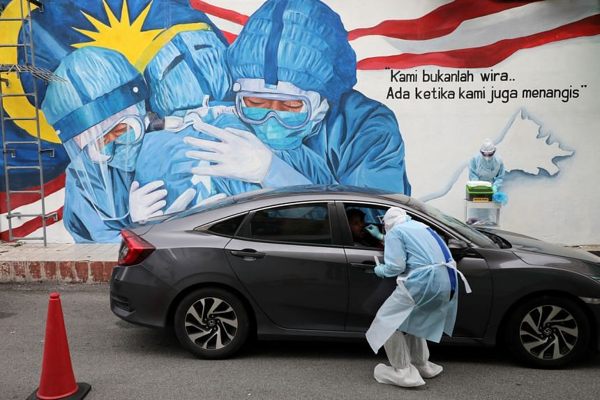 Daily figures of Covid-19 infections in Malaysia hover at around 2,000 cases.