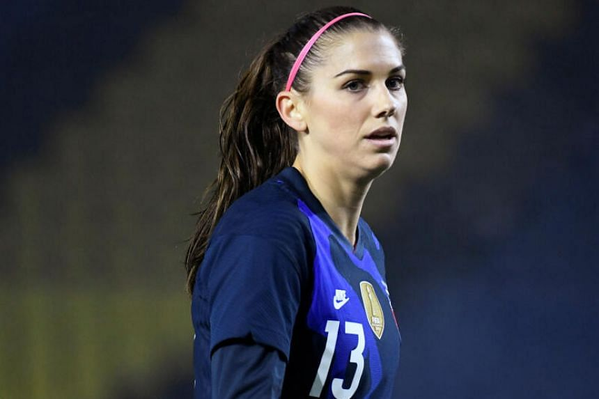 Alex Morgan said she and her family had contracted the coronavirus while in California over the holidays.