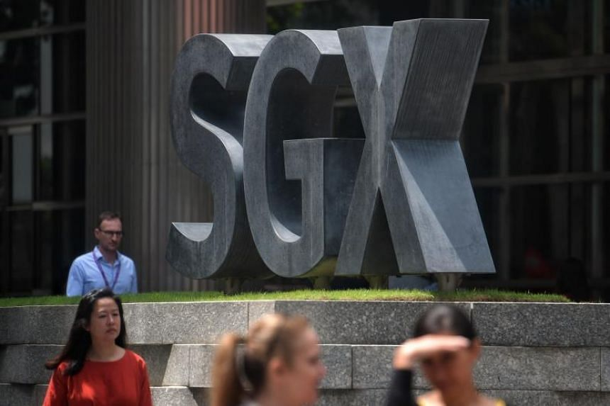 The Singapore Exchange was the worst performer, declining S$0.10 or 1.03 per cent to S$9.60.