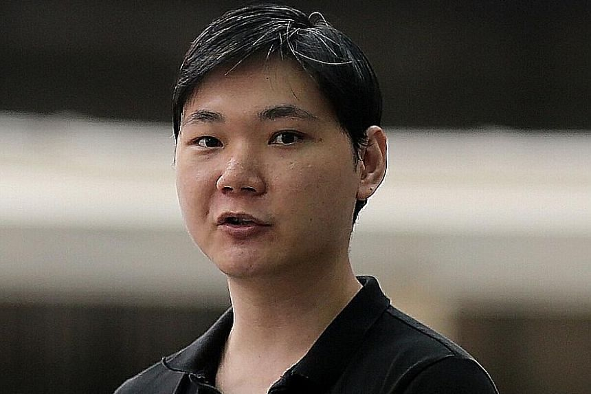Jee Guang You, 33, who has been in and out of jail since 2011 over sex offences, was sentenced on Tuesday to 19 months' jail. ST FILE PHOTO