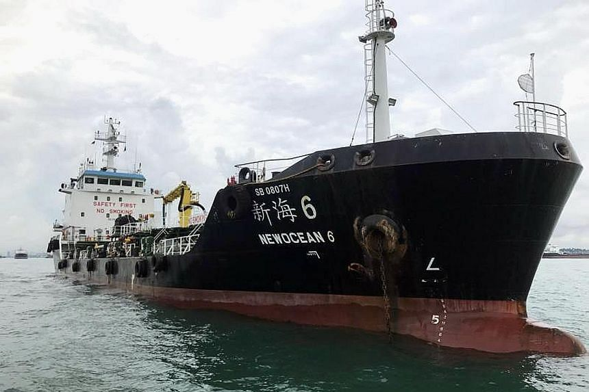 Bunker tanker NewOcean 6 will need to review all its procedures before it is allowed to resume operations.