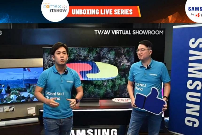 The first Comex live show, by Samsung, garnered around 3,100 views and 2,600 comments by 9pm.