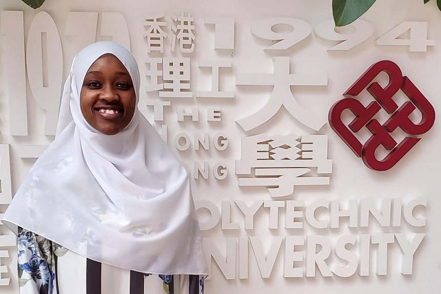 Ms Mbabazi chose her aviation engineering major at PolyU because of its global prospects and leadership opportunities. PHOTO: RAHMA MBABAZI