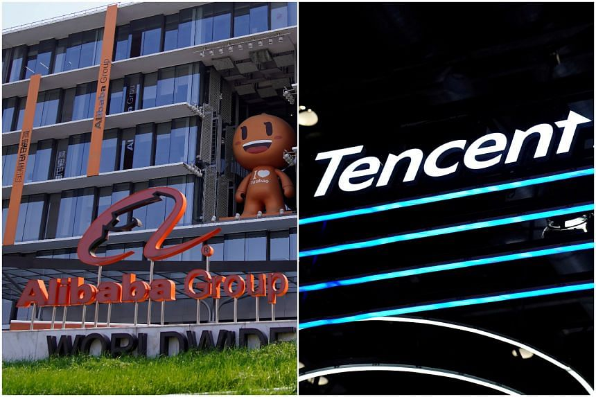 U.S. considering adding Alibaba, Tencent to China investment ban""