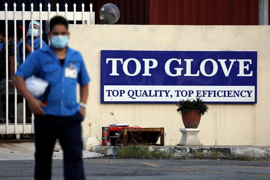 Top Glove had fired a whistleblower who raised concern about the firm's lack of Covid-19 mitigation efforts.