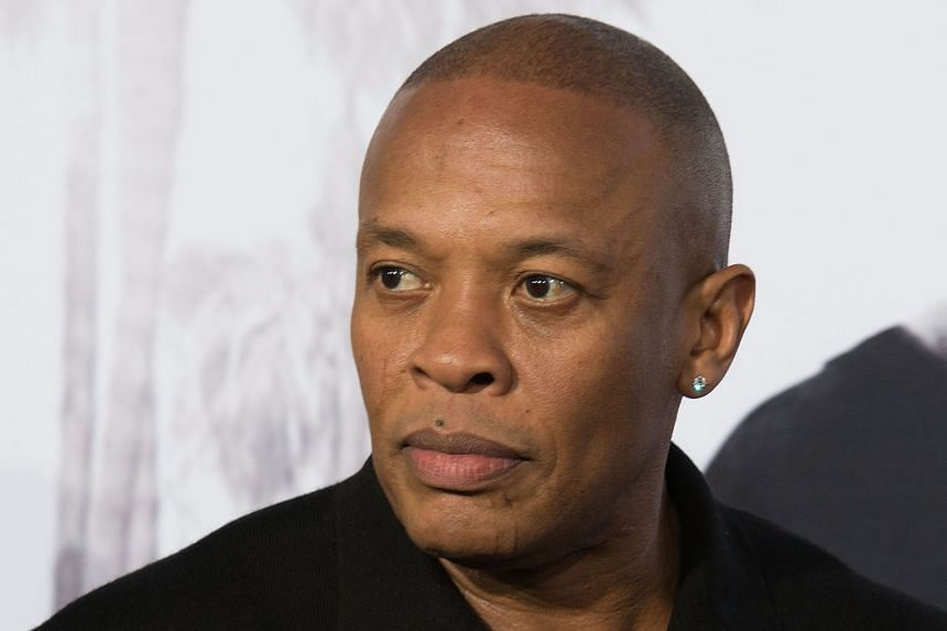 American rapper and legendary producer Dr Dre (above)